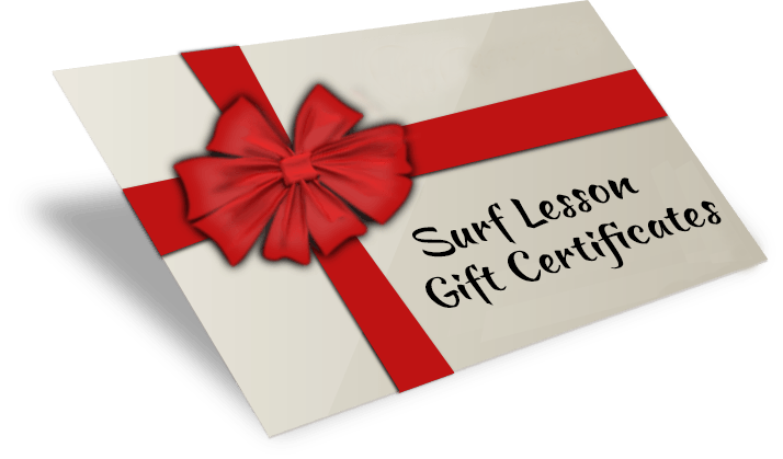Surfing Lesson Gift Certificates