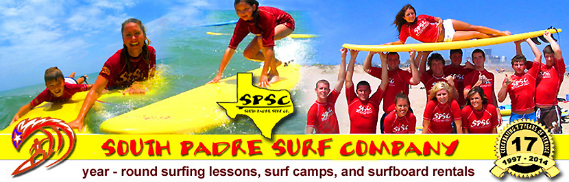 Texas Surf Camps, Texas Surf  Lessons and Surfboard Rentals in South Padre Island