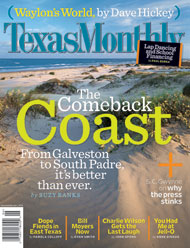 Texas Monthly article featuring South Padre Surf Company surf lessons and surf camps